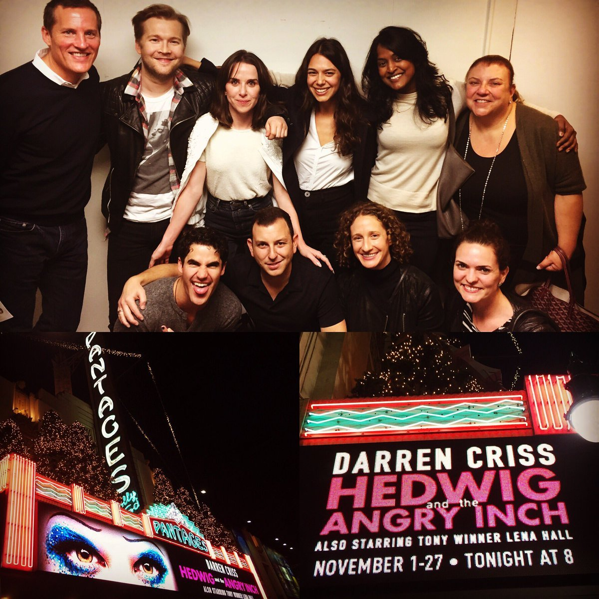 "theangryinch - Pics, gifs, media videos, curtain call videos, stage door videos, and posts of ""who saw Darren"" in Hedwig and the Angry Inch--SF and L.A. (Tour),  - Page 6 Tumblr_ogur2iUChl1uetdyxo1_1280"