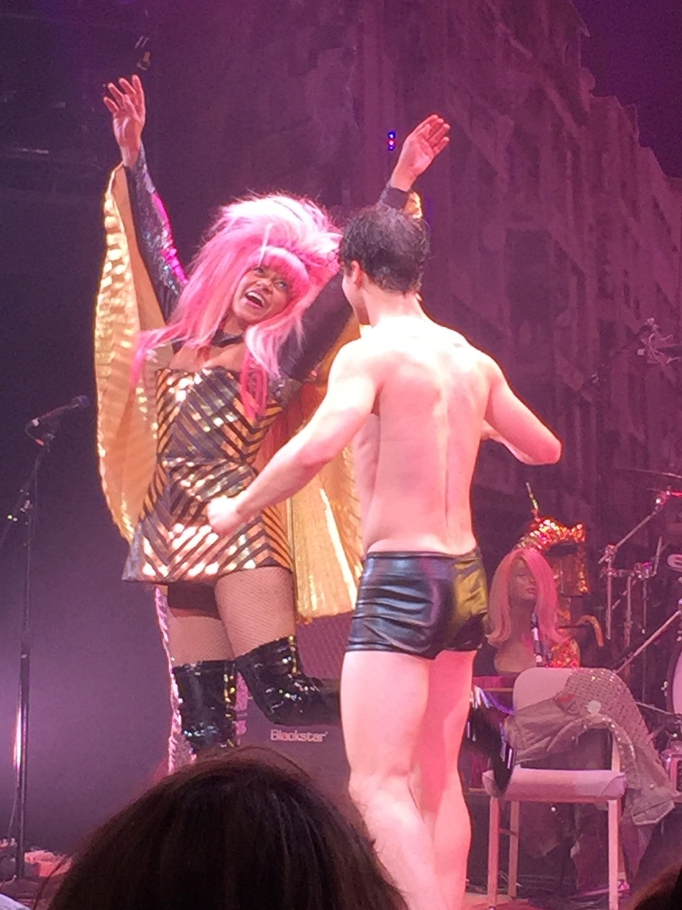 hedwig - Pics and gifs of Darren in Hedwig and the Angry Inch on Broadway. Tumblr_nq6b14Y2Qk1qdtnwjo9_1280