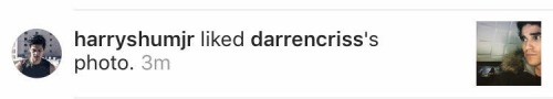 CowlKisses - Darren's TV Projects for 2017 Tumblr_okgubfX7DM1uetdyxo1_500