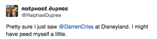hansen -  Darren Appreciation Thread: General News about Darren for 2016  - Page 2 Tumblr_o8nllnYlIo1uetdyxo1_500