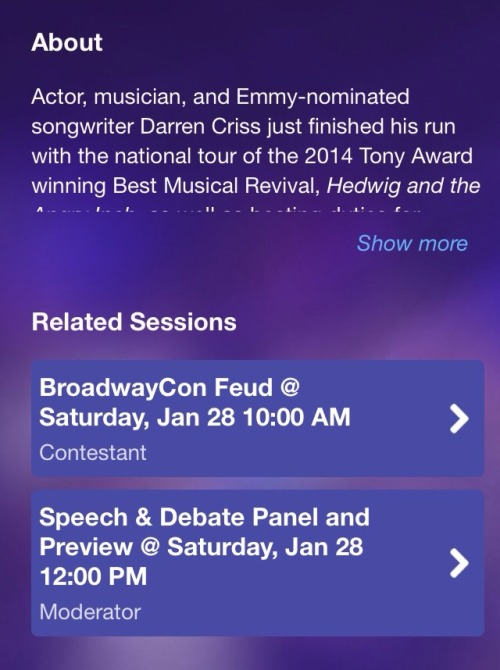 Topics tagged under bwaycon2017 on Darren Criss Fan Community Tumblr_okfuhuTCo61ubd9qxo1_500
