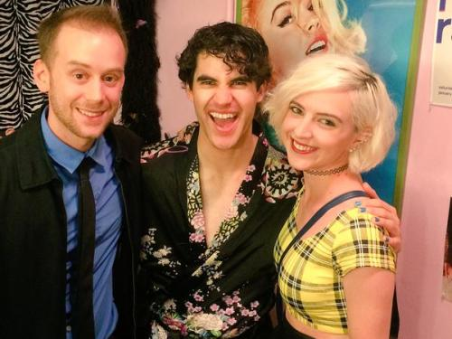badapplesinthebigapple - Who saw Darren in Hedwig and the Angry Inch on Broadway? Tumblr_np8ictcsKb1r4gxc3o2_500