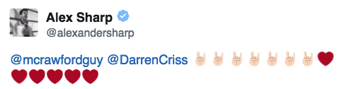 selfie -  Darren Appreciation Thread: General News about Darren for 2016  - Page 6 Tumblr_oaisy7Np3n1uetdyxo2_500