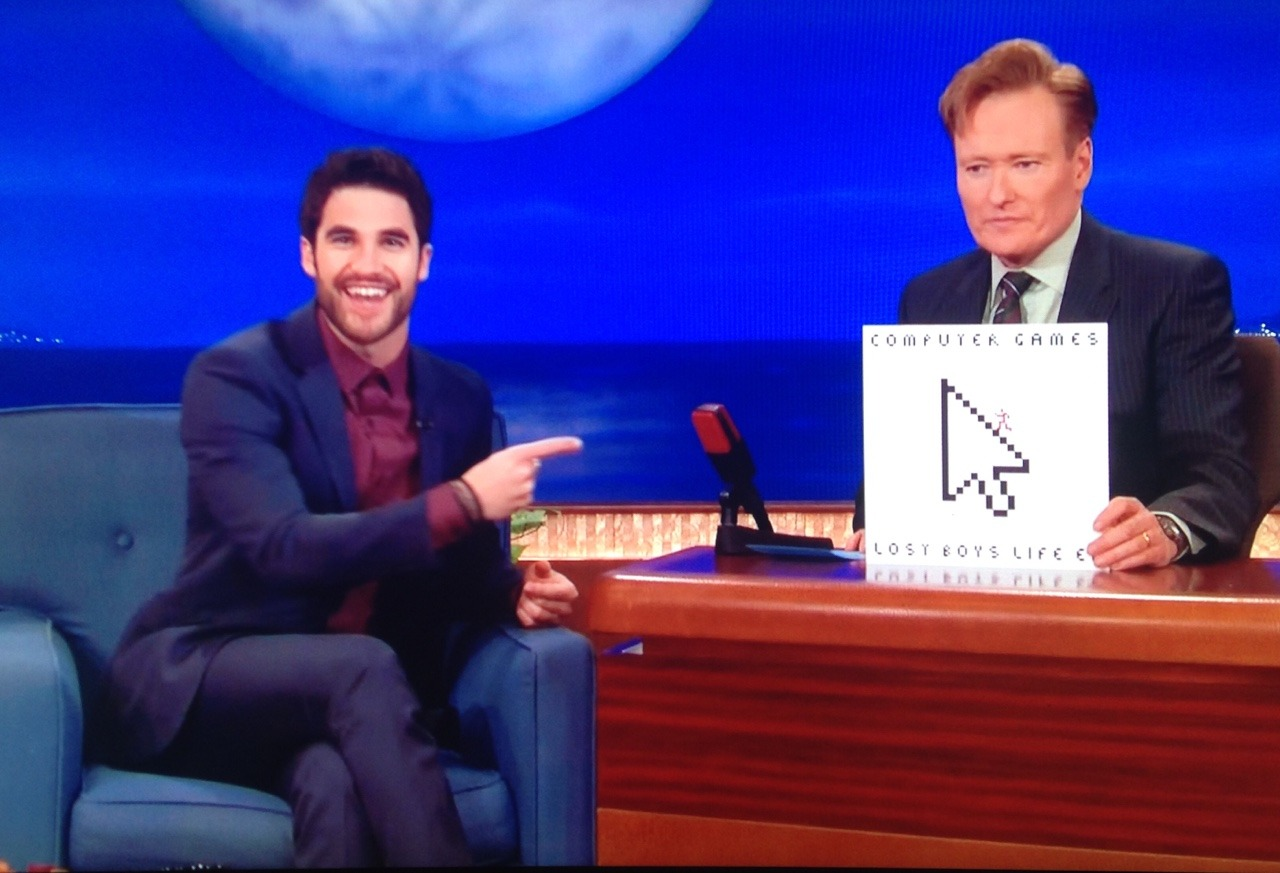 Topics tagged under conan4evah on Darren Criss Fan Community Tumblr_omu87mrpo01ubd9qxo2_1280