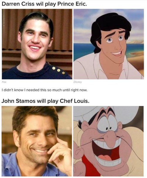 DARRENCRISS - The Little Mermaid at the Hollywood Bowl on June 3, 4, and 6, 2016 Tumblr_o5bo1oK6QJ1uetdyxo2_500