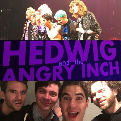 "Pics, gifs, media videos, curtain call videos, stage door videos, and posts of ""who saw Darren"" in Hedwig and the Angry Inch--SF and L.A. (Tour),  - Page 2 Tumblr_oekc5wBnqP1ubd9qxo1_500"