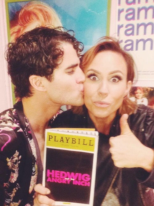 badapplesinthebigapple - Who saw Darren in Hedwig and the Angry Inch on Broadway? Tumblr_nobk3xNqzz1r4gxc3o2_r1_500