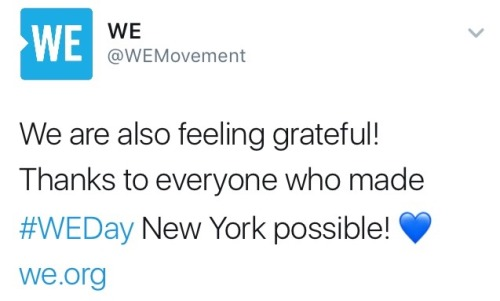 WEDay -  Darren's Charitable Work for 2017 Tumblr_oo49lwQriv1ubd9qxo1_500