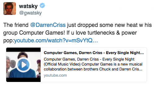 darrencriss - Music by Computer Games (Darren and Chuck's Band) - Page 7 Tumblr_oqbnmubqLx1uetdyxo1_500