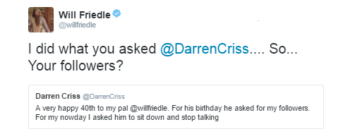 Topics tagged under trid on Darren Criss Fan Community Tumblr_obrn6bE6J01uetdyxo3_r1_500