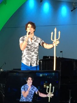 DARRENCRISS - The Little Mermaid at the Hollywood Bowl on June 3, 4, and 6, 2016 Tumblr_o8a3wxBJpP1uetdyxo1_250