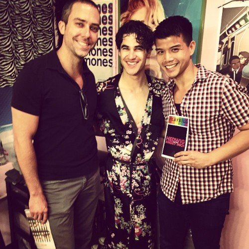 soproud - Who saw Darren in Hedwig and the Angry Inch on Broadway? Tumblr_npwgn39DkB1r4gxc3o1_500