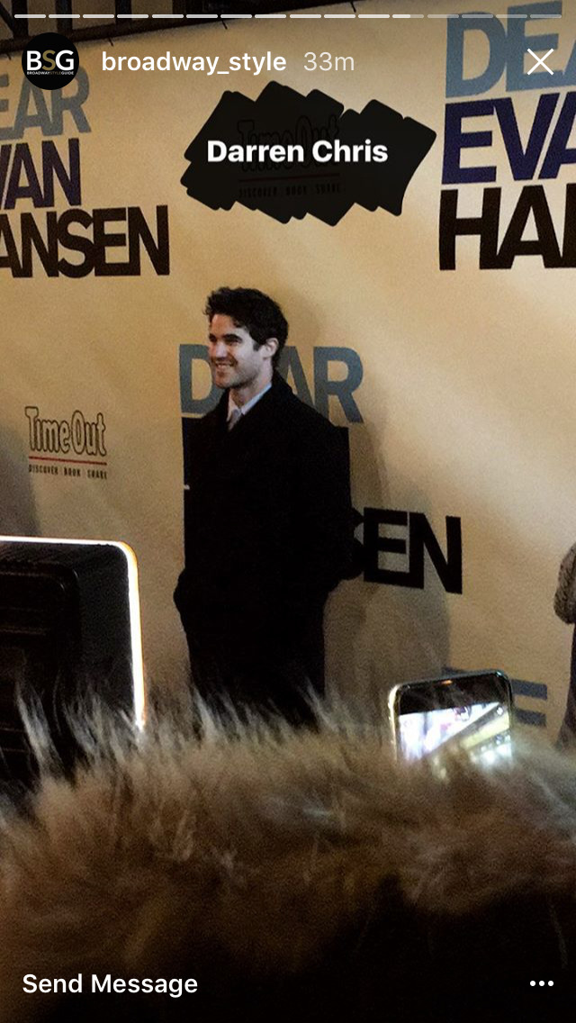 Topics tagged under dearevanhansen on Darren Criss Fan Community Tumblr_ohorrkOQnc1ubd9qxo1_1280