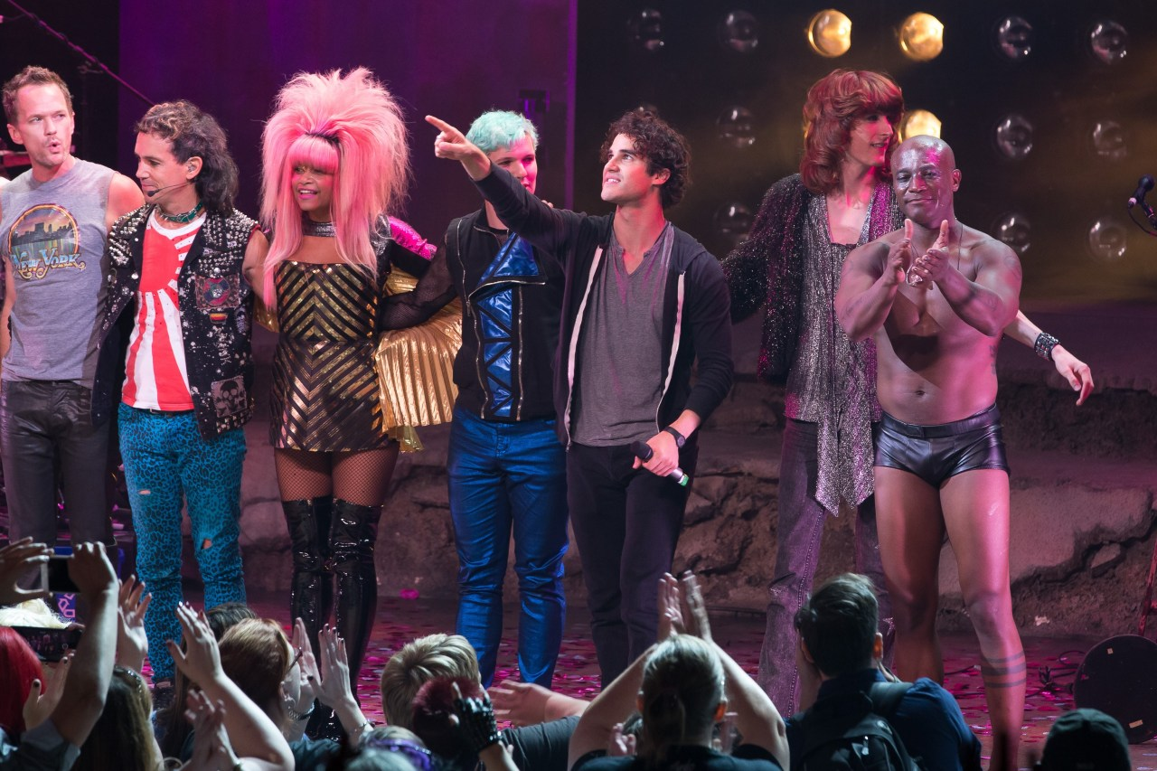 darrenishedwig - Pics and gifs of Darren in Hedwig and the Angry Inch on Broadway. - Page 2 Tumblr_nun34ooeEX1qg49w0o8_1280