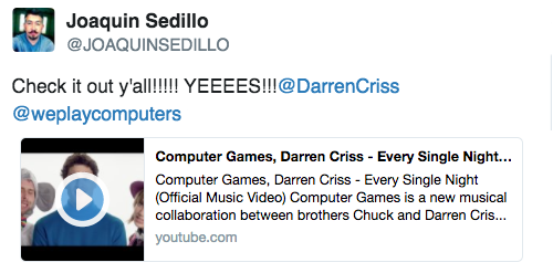 darrencriss - Music by Computer Games (Darren and Chuck's Band) - Page 7 Tumblr_oqbpa9MZkc1uetdyxo1_500