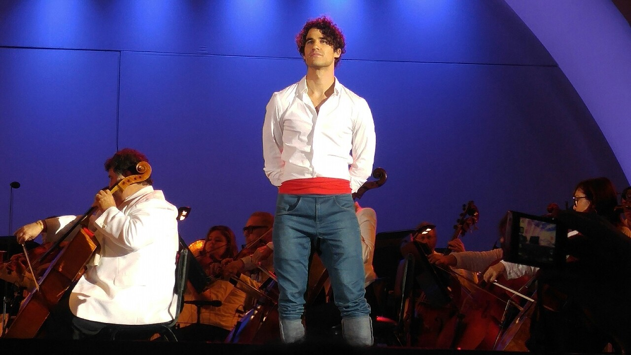 DARRENCRISS - The Little Mermaid at the Hollywood Bowl on June 3, 4, and 6, 2016 Tumblr_o8a9ikHnIt1qbu84eo6_1280