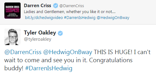 hedwig - Pics and gifs of Darren in Hedwig and the Angry Inch on Broadway. Tumblr_njxotuHlCn1r4gxc3o1_500