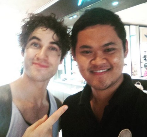 glee -  Darren Appreciation Thread: General News about Darren for 2016  Tumblr_o77sqtxpIO1uetdyxo1_500