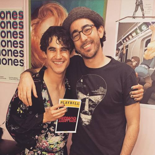 soproud - Who saw Darren in Hedwig and the Angry Inch on Broadway? - Page 2 Tumblr_nro03yJlgl1r4gxc3o1_500
