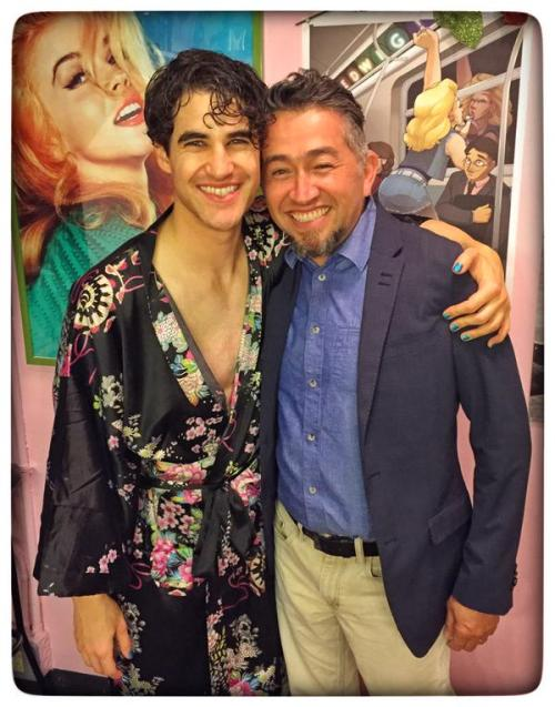 AmyHeckerling - Who saw Darren in Hedwig and the Angry Inch on Broadway? Tumblr_npx11rATmD1r4gxc3o2_500