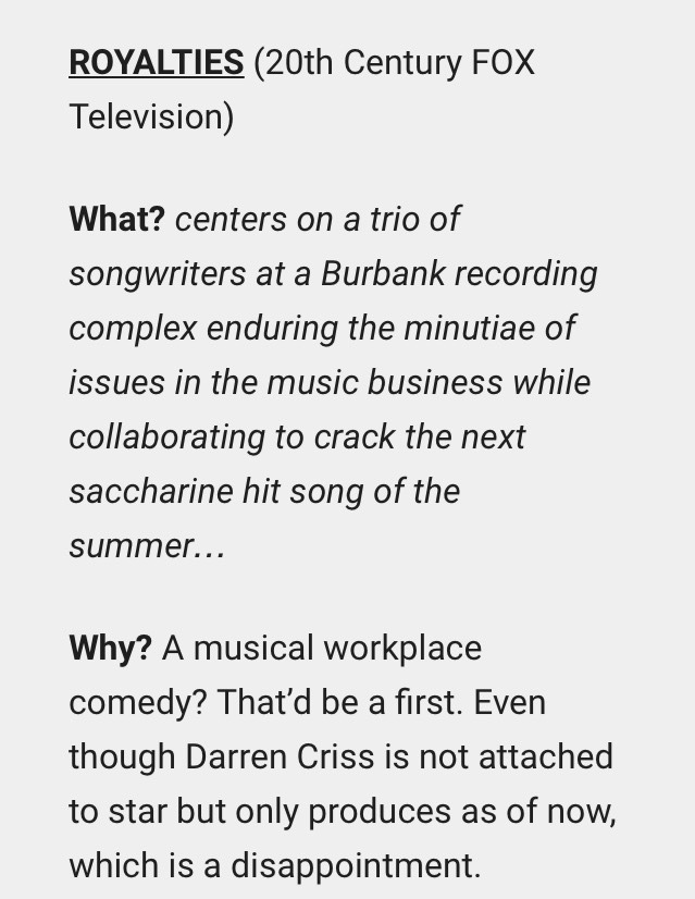 beverlyhills -  Darren Appreciation Thread: General News about Darren for 2016  - Page 16 Tumblr_oieew8pemv1ubd9qxo1_1280