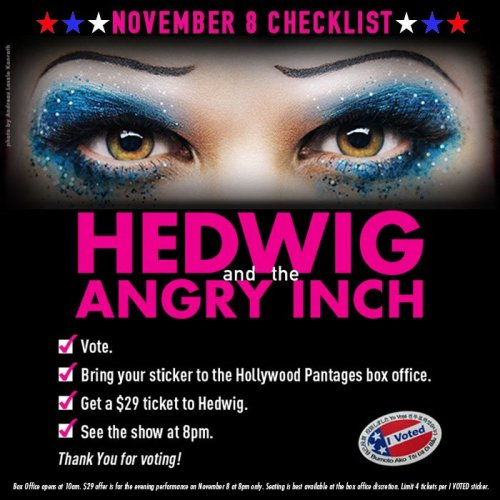 Queer - The Hedwig and the Angry Inch Tour in SF and L.A. (Promotion, Pre-Performances & Miscellaneous Information) - Page 7 Tumblr_ogauorRTZd1uetdyxo1_500