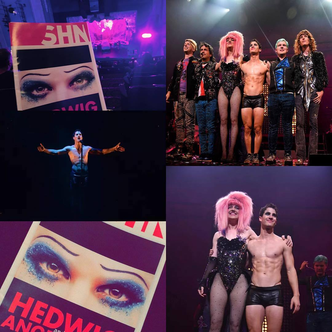 "HEDWIGTOUR - Pics, gifs, media videos, curtain call videos, stage door videos, and posts of ""who saw Darren"" in Hedwig and the Angry Inch--SF and L.A. (Tour),  - Page 3 Tumblr_of217byl3P1uetdyxo2_1280"
