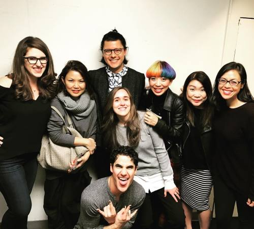 "Stagedoor - Pics, gifs, media videos, curtain call videos, stage door videos, and posts of ""who saw Darren"" in Hedwig and the Angry Inch--SF and L.A. (Tour),  - Page 6 Tumblr_ogw5dfO4dS1uetdyxo1_500"