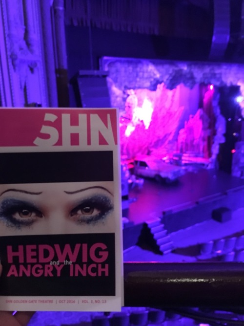Fan Reviews, Media Reviews, and comments from members of the Media, about Darren in Hedwig and the Angry Inch--SF and L.A. Tour  - Page 3 Tumblr_of5dnsMyTI1qjw72yo3_500