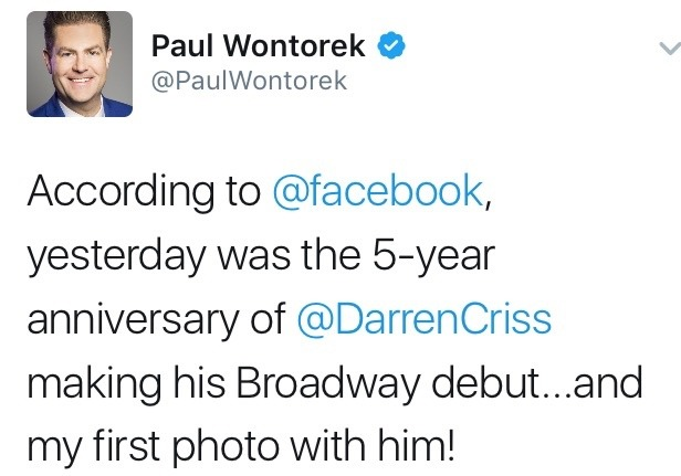 wordtheatre - Darren Appreciation Thread: General News about Darren for 2017 Tumblr_oj9s8sCNVe1ubd9qxo1_1280