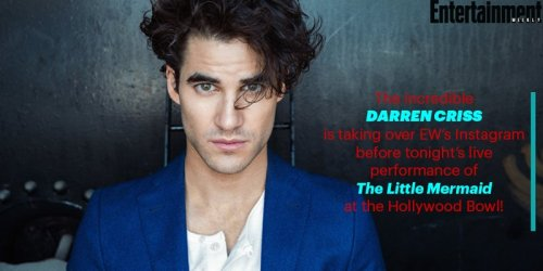 DARRENCRISS - The Little Mermaid at the Hollywood Bowl on June 3, 4, and 6, 2016 Tumblr_o89a467GPF1uetdyxo1_500