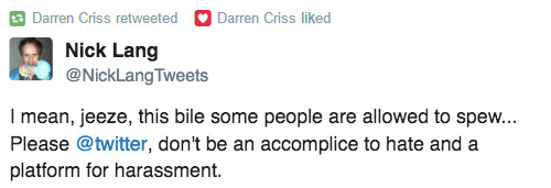 selfie -  Darren Appreciation Thread: General News about Darren for 2016  - Page 6 Tumblr_oakur4N43p1uetdyxo3_r1_500