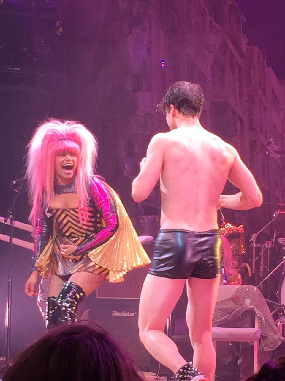 darrenishedwig - Pics and gifs of Darren in Hedwig and the Angry Inch on Broadway. Tumblr_nq6b14Y2Qk1qdtnwjo7_1280