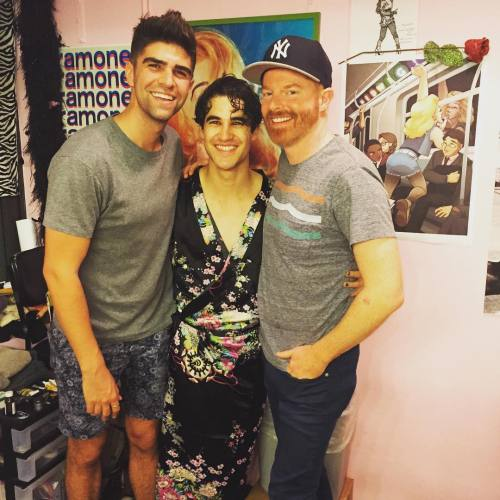 soproud - Who saw Darren in Hedwig and the Angry Inch on Broadway? - Page 2 Tumblr_nr6qxkKCCL1uo6446o1_500