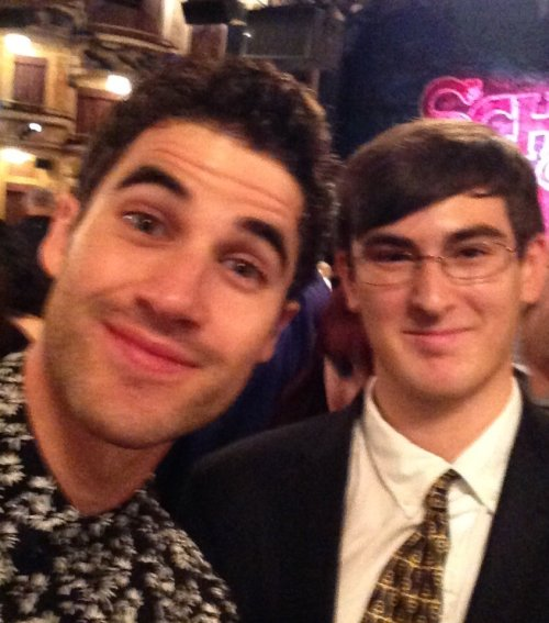 Nyc -  Darren Appreciation Thread: General News about Darren for 2016  - Page 11 Tumblr_oe054sebDz1uetdyxo2_500