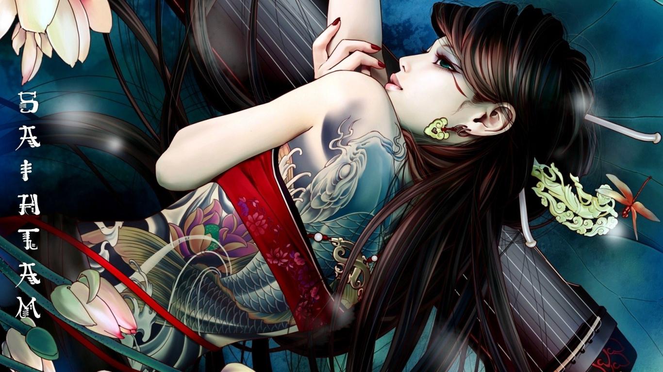 [FP] Ari Sha Hwong 6926821-anime-girl-tattoo