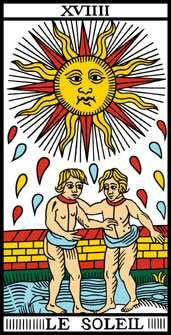 Question avec 3 cartes  19soleil