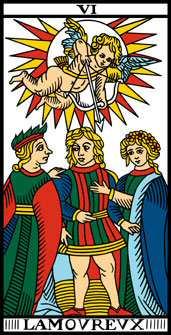 Question avec 3 cartes  6amoureux