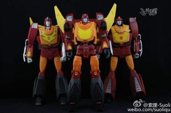 [DX9 Toys] Produit Tiers - Jouet D-06 Carry aka Rodimus et D-06T Terror aka Black Rodimus - Page 2 Mn9fepGt