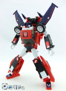 [Masterpiece] MP-25L LoudPedal (Noir) + MP-26 Road Rage (Rouge) ― aka Tracks/Le Sillage Diaclone - Page 2 O9QVwfgT
