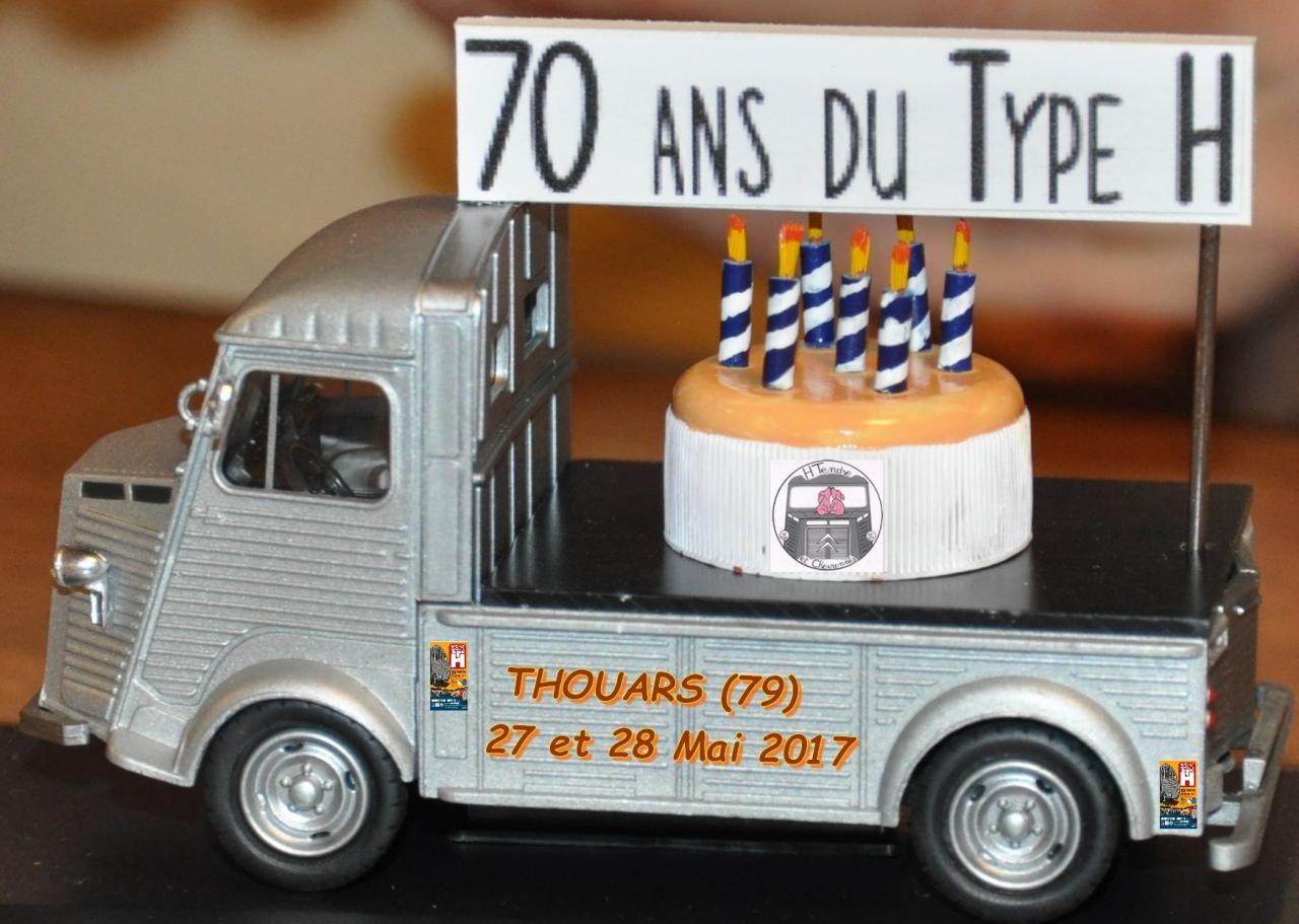 Nationale « Les 70 ans du Citroën Type H » les 27 et 28 MAI 2017 70-bougies