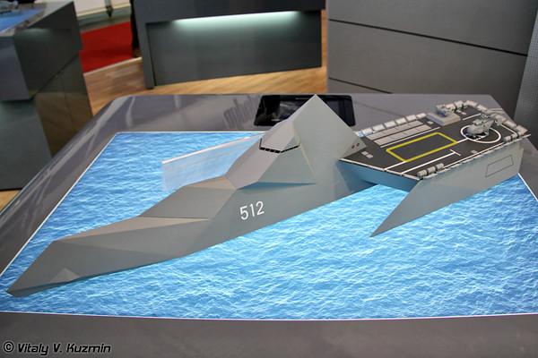 """بالصور.. شاهد وتعرف على سفينة """"إر – 32"""" الروسية الحاملة لصواريخ """"موسكيت"""" التى حصلت عليها مصر   - صفحة 2 IMDS-201177-M"""