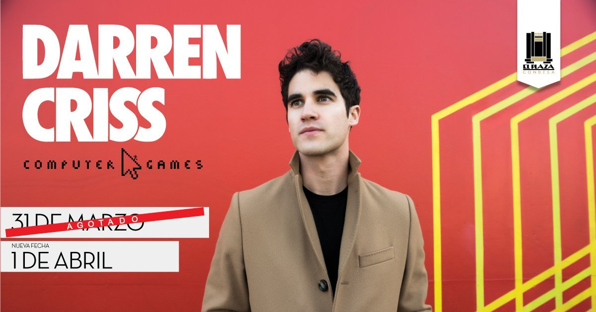 DARRENCRISS - Music by Computer Games (Darren and Chuck's Band) - Page 13 Tumblr_p56guirf8R1ubd9qxo1_1280