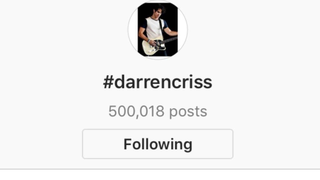 Concert - Darren Appreciation Thread:  General News about Darren for 2018 - Page 6 Tumblr_p6ycm7DZ4k1ubd9qxo1_1280