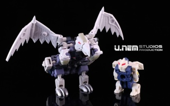 [FansProject] Produit Tiers - Jouet Saurus Ryu-oh aka Dinoking (Victory) | Monstructor (USA) 3SLmFkWK
