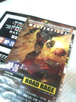 [Masterpiece] MP-25L LoudPedal (Noir) + MP-26 Road Rage (Rouge) ― aka Tracks/Le Sillage Diaclone - Page 2 AsRWFM2J
