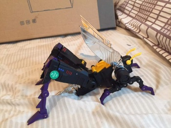 [Fanstoys] Produit Tiers - Jouet FT-12 Grenadier / FT-13 Mercenary / FT-14 Forager - aka Insecticons - Page 4 FtIiRUyr