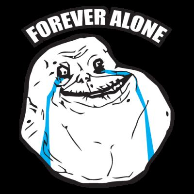 Πως μπήκατε στο φορουμ Forever-alone-400x400