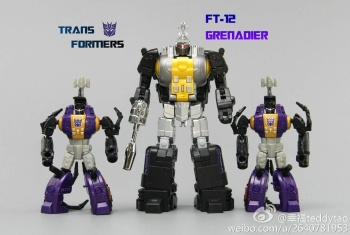 [Fanstoys] Produit Tiers - Jouet FT-12 Grenadier / FT-13 Mercenary / FT-14 Forager - aka Insecticons - Page 2 0LjKzluy