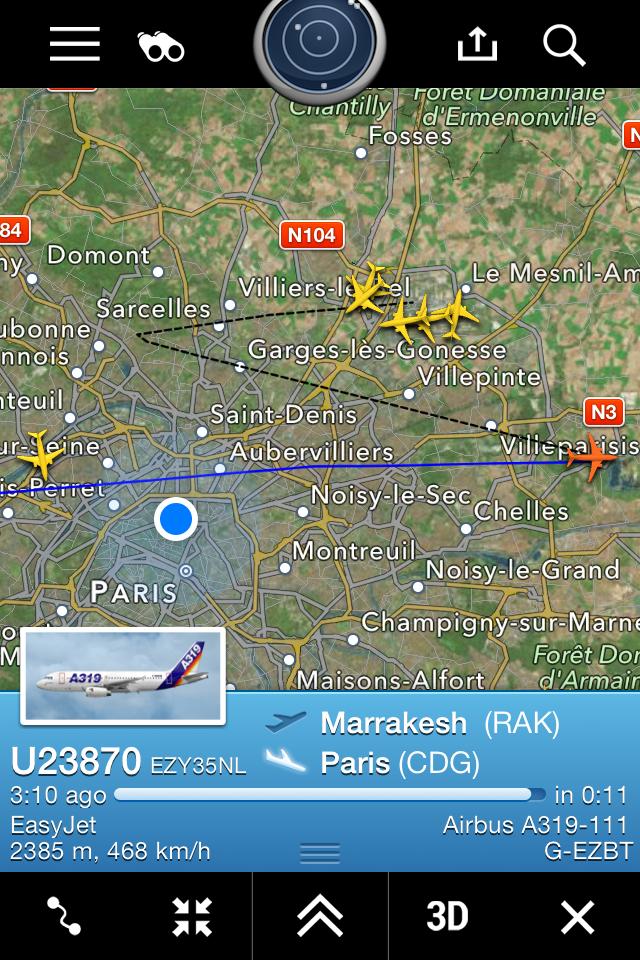 2015: le 25/02 à 22h57 - Pan dans le ciel -  Ovnis à Paris 18è Montmartre - Paris (dép.75) IMG_1362